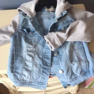 Jr girls Jean jacket